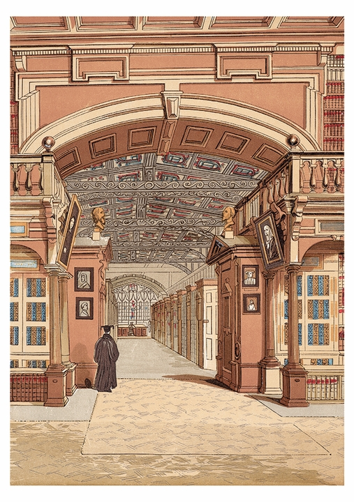 The Bodleian Library, Oxford Postcard
