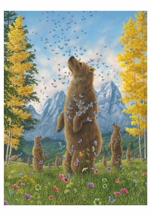Robert Bissell: The Enchantment II Notecard