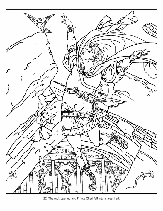 The Fairy Tale Art of Walter Crane Coloring Book