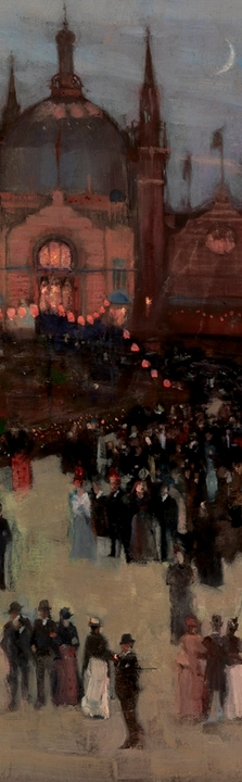 Sir John Lavery: The Glasgow International Exhibition Bookmark