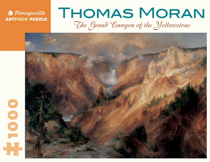 Thomas Moran: The Grand Canyon of the Yellowstone 1,000-piece Jigsaw Puzzle
