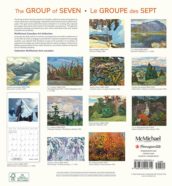 The Group of Seven 2021 Wall Calendar