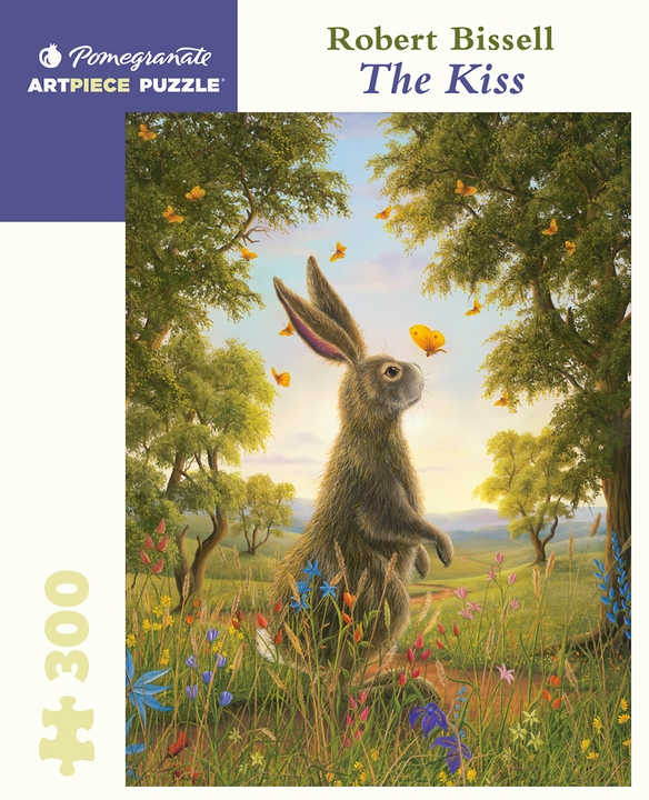 Robert Bissell: The Kiss 300-piece Jigsaw Puzzle
