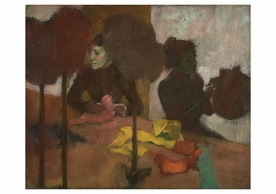 Edgar Degas: The Milliners Notecard
