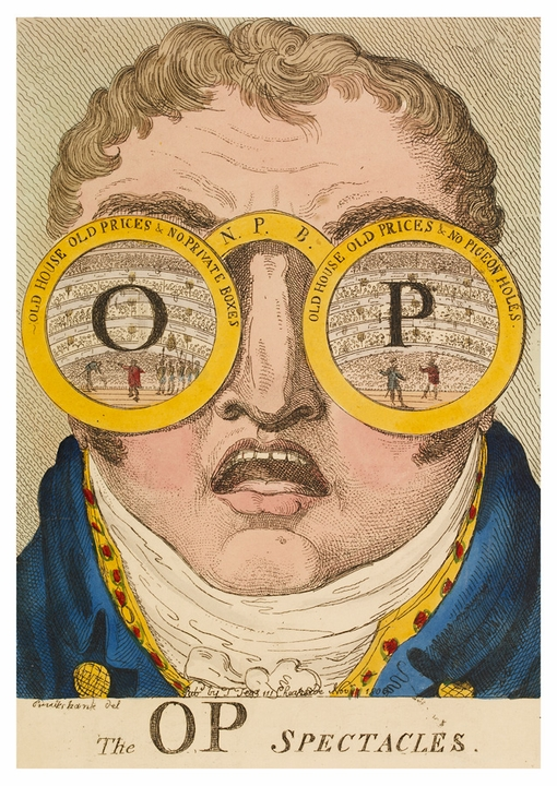 The OP Spectacles Postcard