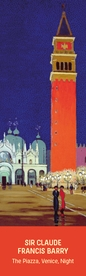 Claude Francis Barry: The Piazza, Venice Bookmark