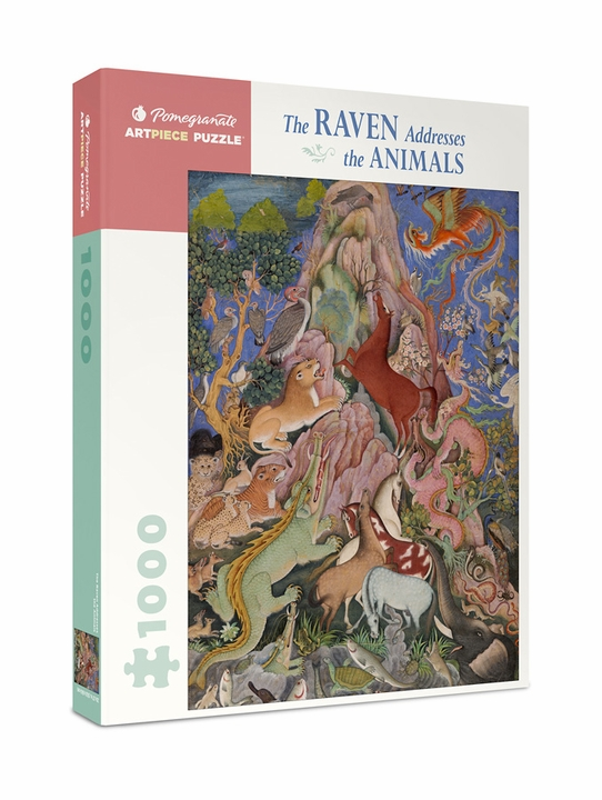 The Raven Addresses the Animals 1000-Piece Jigsaw Puzzle