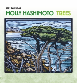 Molly Hashimoto: Trees 2021 Mini Wall Calendar