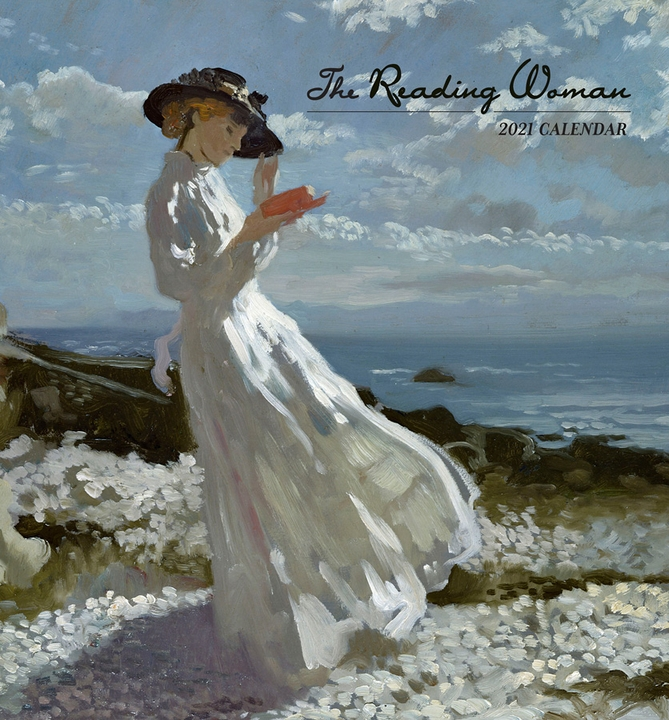 The Reading Woman 2021 Mini Wall Calendar