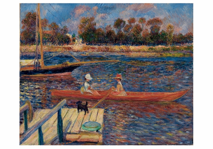 Pierre-Auguste Renoir: The Seine at Argenteuil Notecard