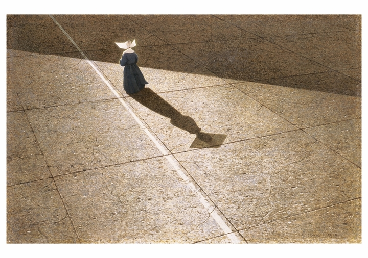 Robert Vickrey: The Shadow and the Line Notecard