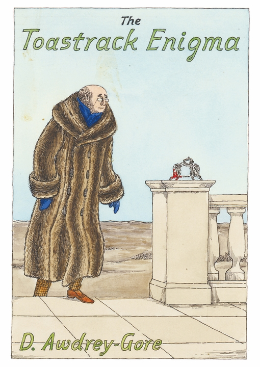 Edward Gorey: The Toastrack Enigma Postcard