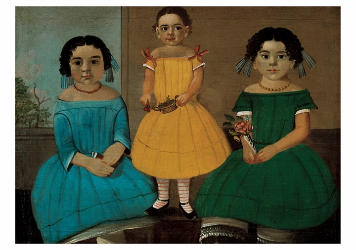 William Matthew Prior: Three Sisters of the Copeland Family Notecard