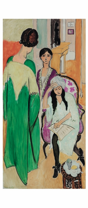 Henri Matisse: Three Sisters Panoramic Boxed Notecards