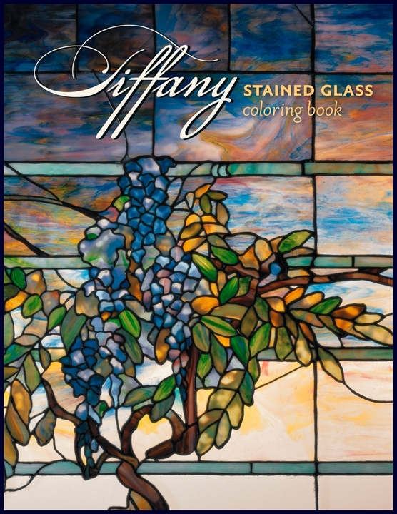 - Tiffany Stained Glass Coloring Book