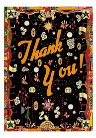 Tony Fitzpatrick: Thank You! Boxed Thank You Notes