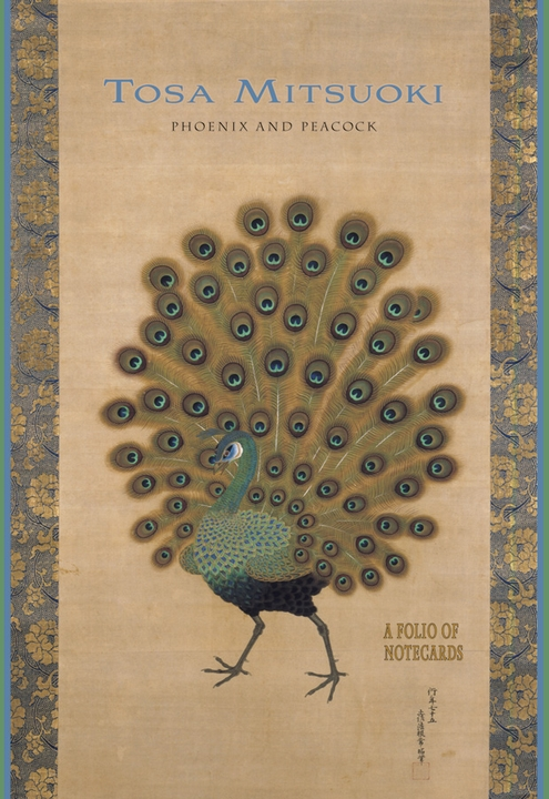 Tosa Mitsuoki: Phoenix and Peacock Notecard Folio