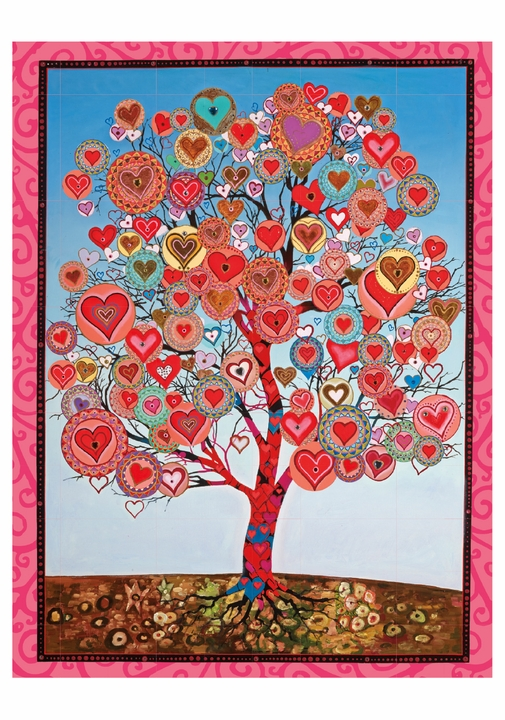 Tree of Lovers Birthday Card