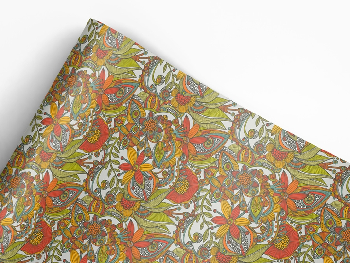 Valentina Harper: Flowers and Doodles Designer Gift Wrap