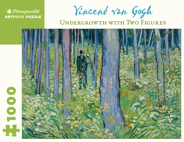 Van Gogh: Undergrowth with Two Figures 1000-Piece Jigsaw Puzzle