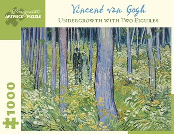 Van Gogh: Undergrowth-Two Figures 1000-Piece Jigsaw Puzzle