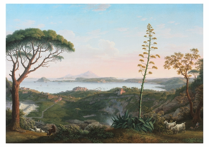 Philipp Hackert: View of the Gulf of Pozzuoli Notecard