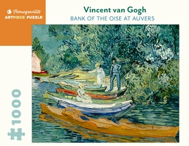 Vincent van Gogh: Bank of the Oise at Auvers 1000-Piece Jigsaw Puzzle