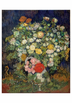 Vincent van Gogh: Bouquet of Flowers in a Vase Notecard