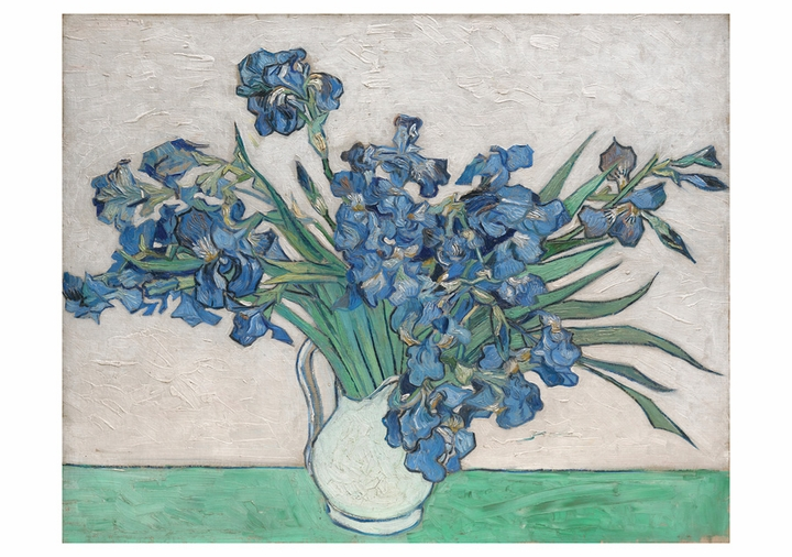 Vincent van Gogh: Irises Birthday Card
