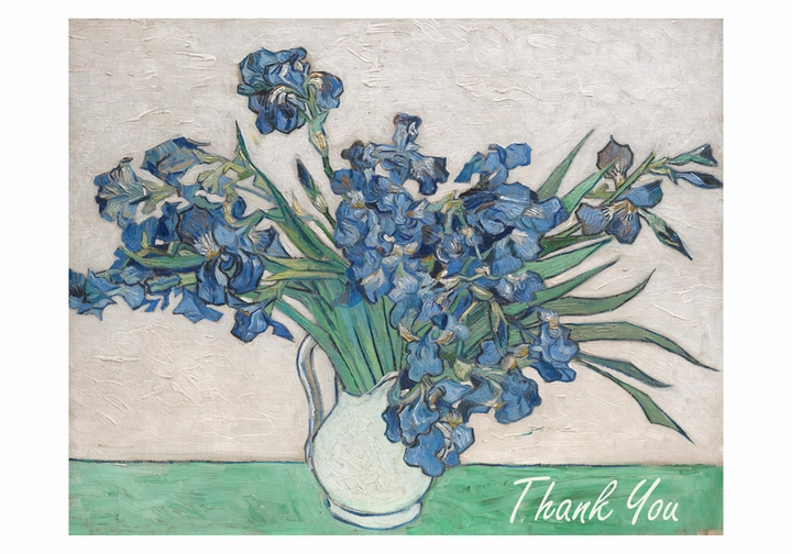 Vincent van Gogh: Irises Thank You Notes