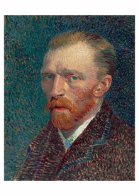 Vincent van Gogh: Self-Portrait Postcard