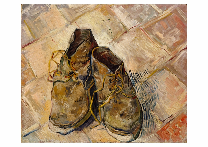 Vincent van Gogh: Shoes Postcard