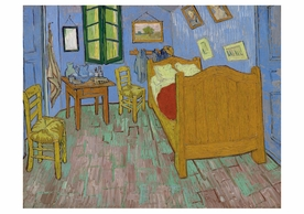 Vincent van Gogh: The Bedroom Notecard