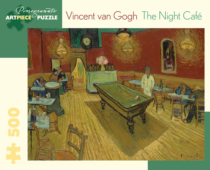 Vincent van Gogh: The Night Cafe 500-Piece Jigsaw Puzzle