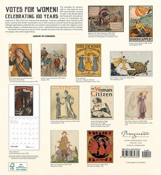 Votes for Women! Celebrating 100 Years 2020 Wall Calendar