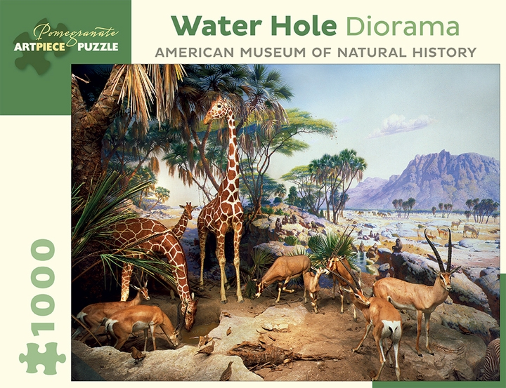 Water Hole Diorama 1,000-piece Jigsaw Puzzle