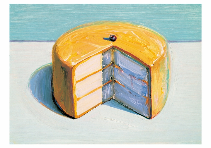 Wayne Thiebaud: Cake Boxed Notecard Assortment