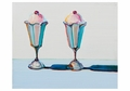 Wayne Thiebaud: Tulip Sundaes Notecard