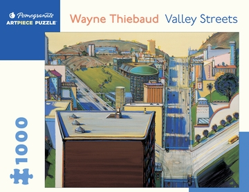 Wayne Thiebaud: Valley Streets 1000-Piece Jigsaw Puzzle