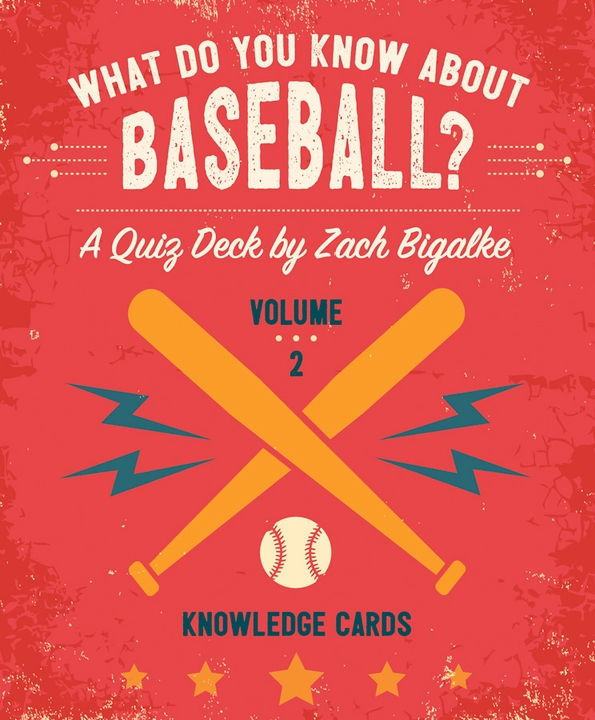 What Do You Know about Baseball? Volume 2 Knowledge Cards