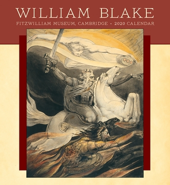 William Blake 2020 Wall Calendar