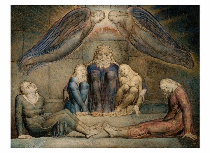 William Blake Book of Postcards