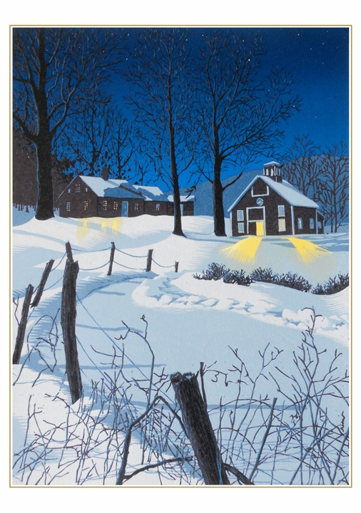 William H. Hays: Midnight Clear Holiday Cards