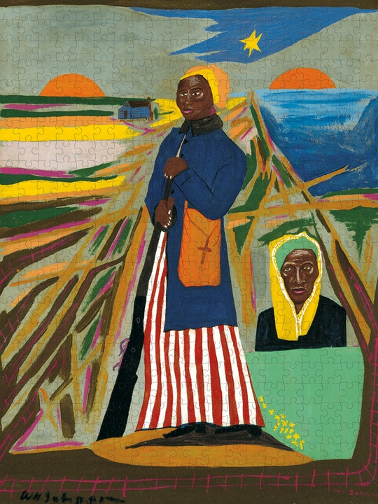 William H. Johnson: Harriet Tubman 500-Piece Jigsaw Puzzle