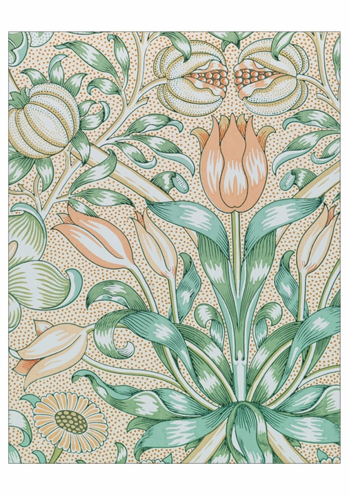 William Morris: Arts & Crafts Designs Notecard Folio