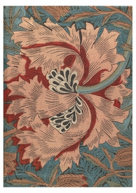William Morris: The Golden Legend Notecard