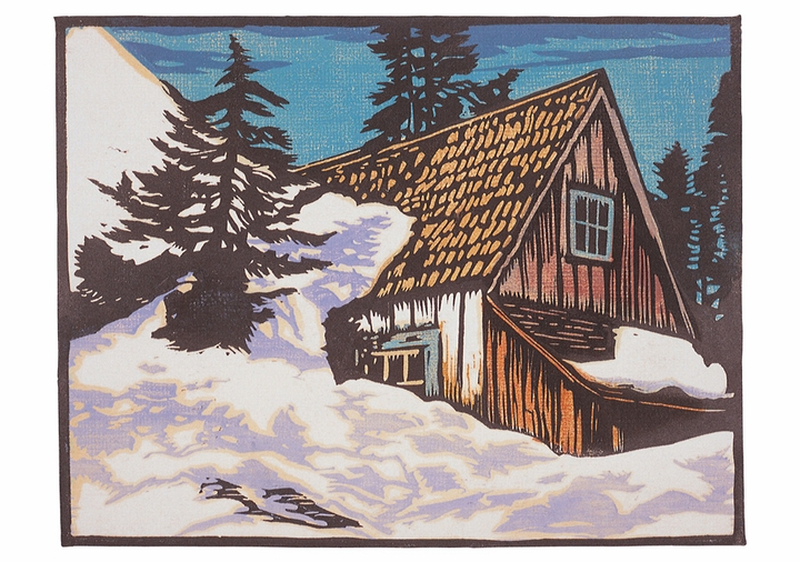 William S. Rice: Sierra Winter Holiday Cards