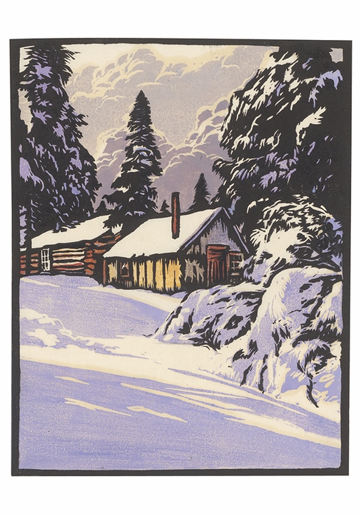 William S. Rice: Silver Silence Holiday Cards