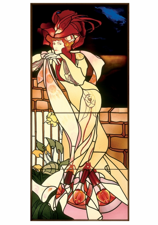 Georges de Feure: Window Notecard
