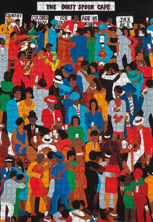 Winfred Rembert: The Dirty Spoon Cafe 1000-Piece Jigsaw Puzzle